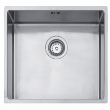 Linea R15 40.40 Sink Underslung SB 440x440x185mm Polished Stainless Steel
