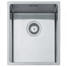 Linea R15 34.40 Sink Underslung SB 440x380x185mm Polished Stainless Steel