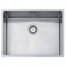 Linea R15 50.40 Sink Underslung SB 540x440x193mm Polished Stainless Steel