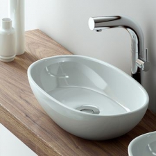 Victoria & Albert - Barcelona Rimless Countertop Basin 480mm White