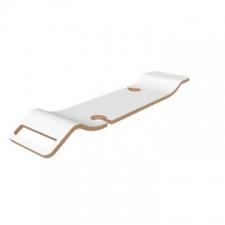 Victoria & Albert - Tombolo 10 Contemporary Bath Rack White